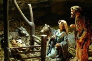 Presepio di Ciciana - La Natività: particolare