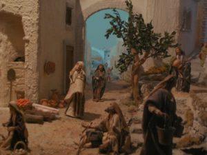 Presepio di Ciciana - Via in paese