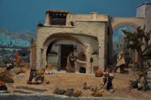 Presepio di Ciciana - Il Forno