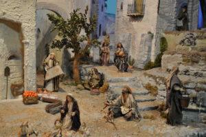 Presepio di Ciciana - Il Mercato