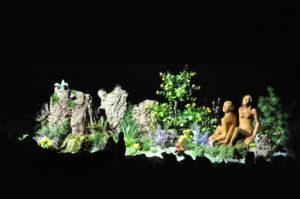 Presepe di Ciciana - Adamo e Eva