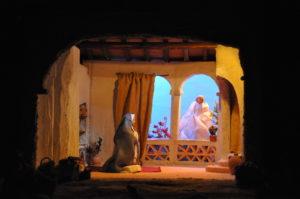 Presepe di Ciciana - L'Annunciazione