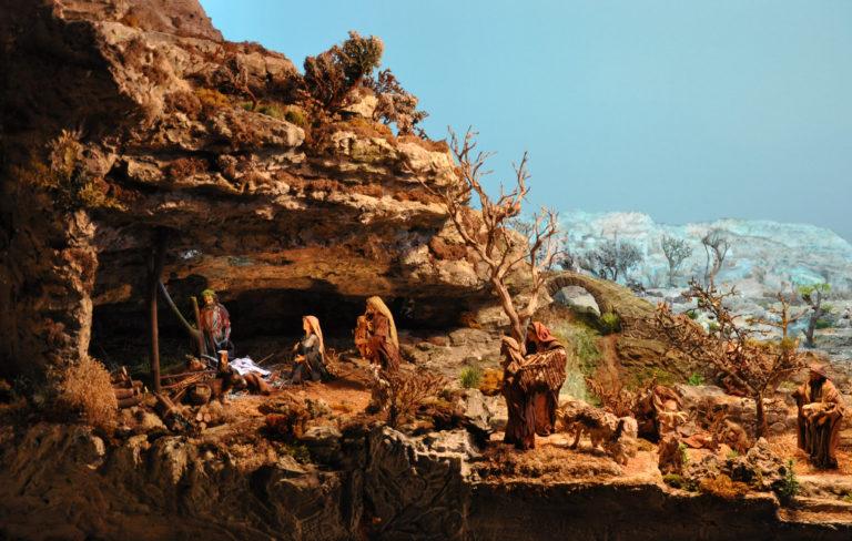 Presepe di Ciciana La Grotta