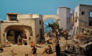 Presepio di Ciciana - Il Paese